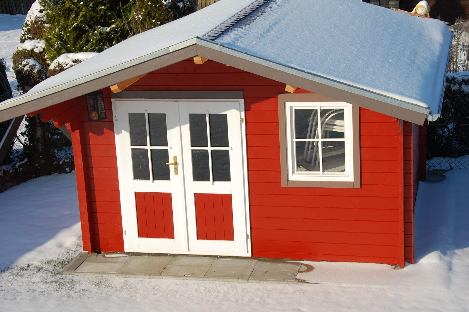 gartenhaus dach
