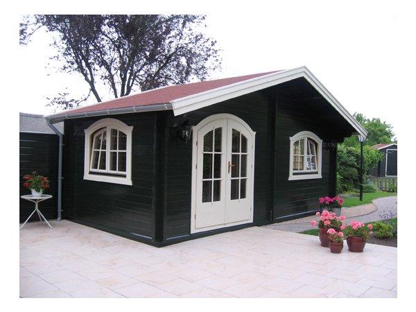bildergalerie gartenhaus nach mass. Black Bedroom Furniture Sets. Home Design Ideas